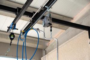 Los cabezales rotativos en la limpieza del interior de cisternas